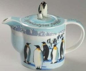 emperor penguin teapot