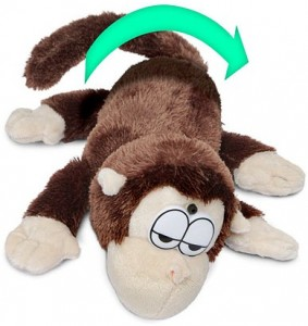 Electronic Rolling Laughing Monkey