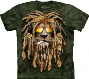 Smokin' Jahman Lion T-Shirt