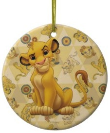 Lion King Simba Christmas ornament