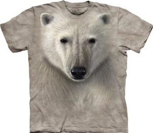 Polar Bear Face T-Shirt