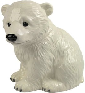 Polar Bear cub cookie jar
